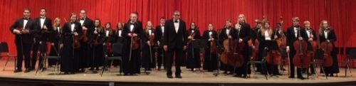 Beloit String Ensemble completing another successful festival.